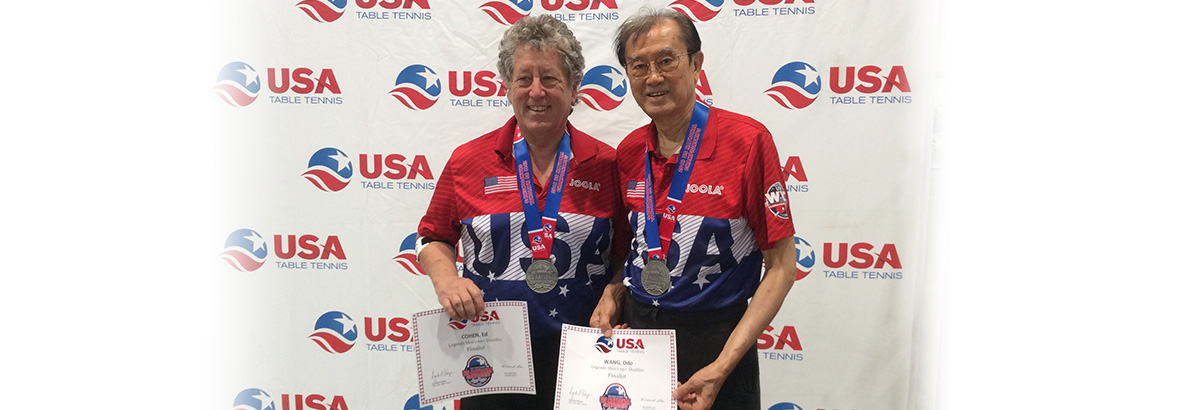 Congratulations Odo Wang and Ed Cohen for their success in the US Nationals!