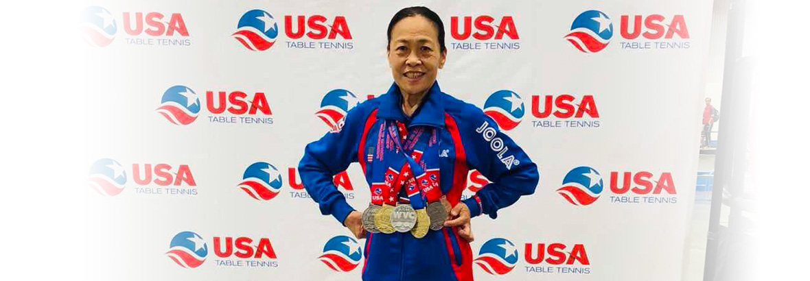 Congratulations to Yan Jun for winning multiple titles at the Nationals!!!
