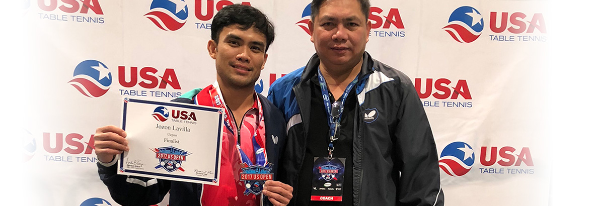 Congratulations to Jozon Lavilla for his success in the Nationals